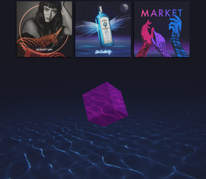 Midsummer Online Visual Identity | design | motion-design | MSND arts festival