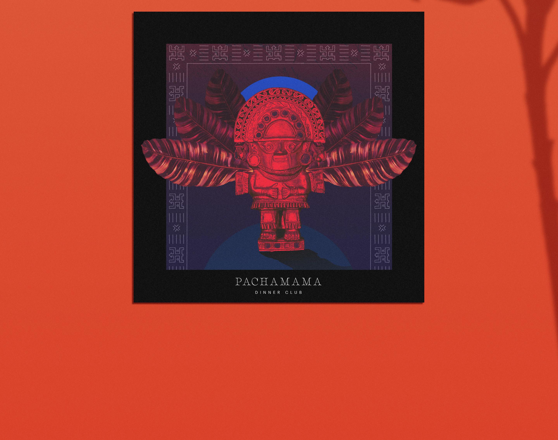 Pachamama Visual Brand Identity | design | Pachamama Dinner Club